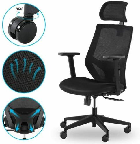 ergonomic office chair high back desk chairwith
