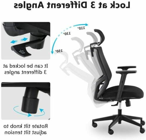 Tribesigns Ergonomic High Back Headrest, Backrest