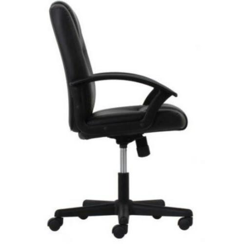 Leather Executive Office with