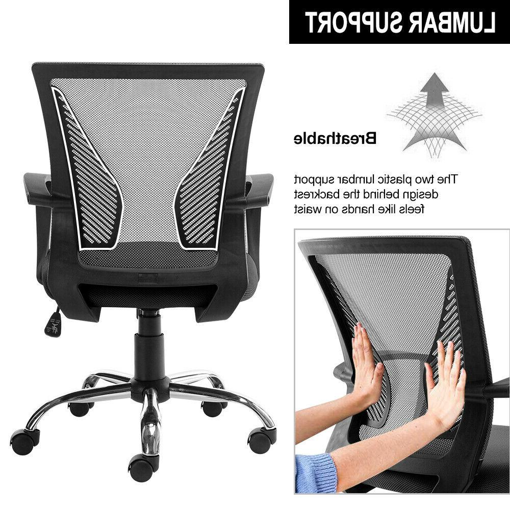 Executive Gaming Home Office Chair Desk Adjustable Swivel Chair