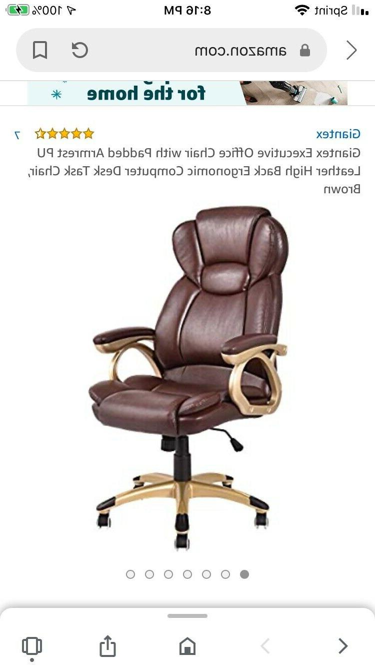 executive office chair brand new