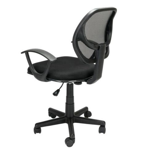 Hight Back Drafting Chair Stool Mesh Swivel Armrest Computer