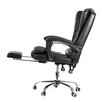 Executive Gaming Leather High Recliner W/