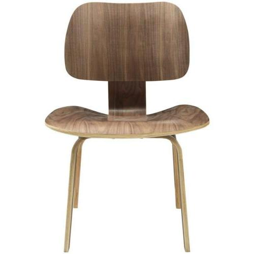 Modway Fathom Mid-Century Modern Molded Plywood Dining Chair