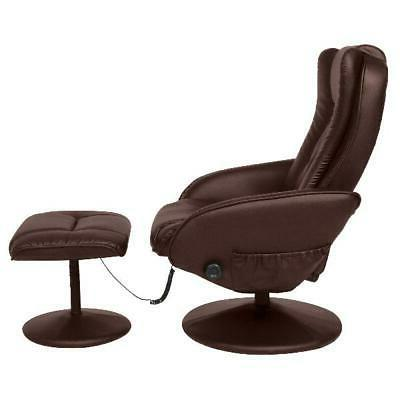 Best Leather Electric Recliner Chair w/ Stool
