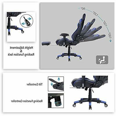 Ficmax Ergonomic Video Chairs Home Office With PU