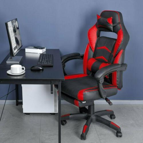 Gaming Chair Ergonomic Height Adjustable Style Recliner