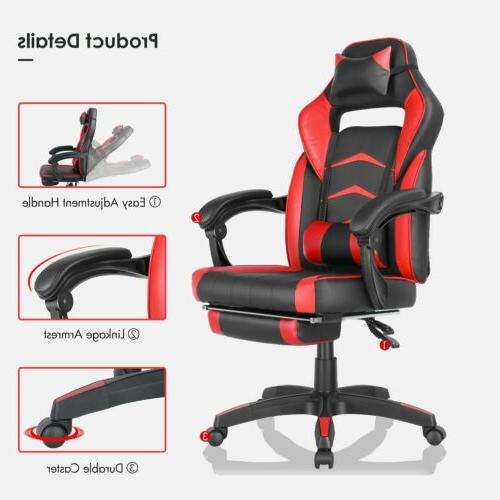 Gaming Height Footrest Style Recliner