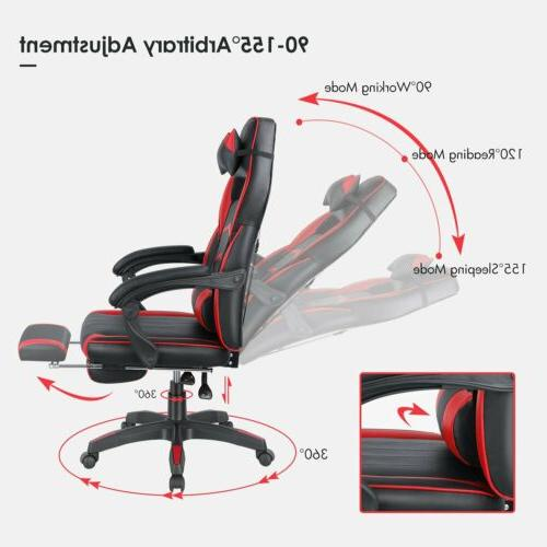 Gaming Office Height Adjustable Style