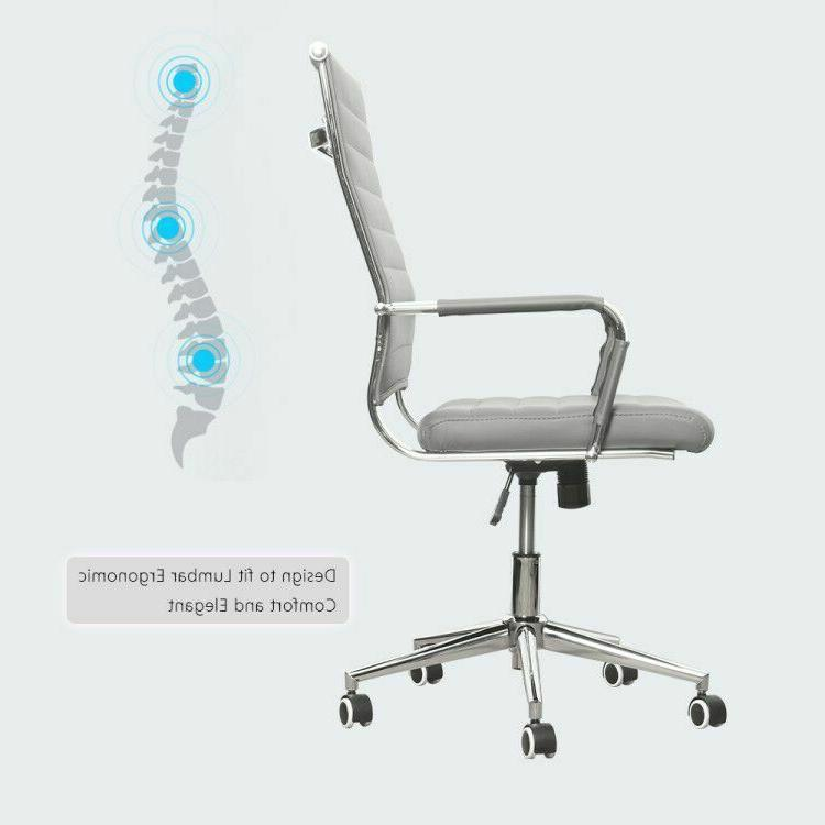 Gaming Recliner Desk Seat Swivel