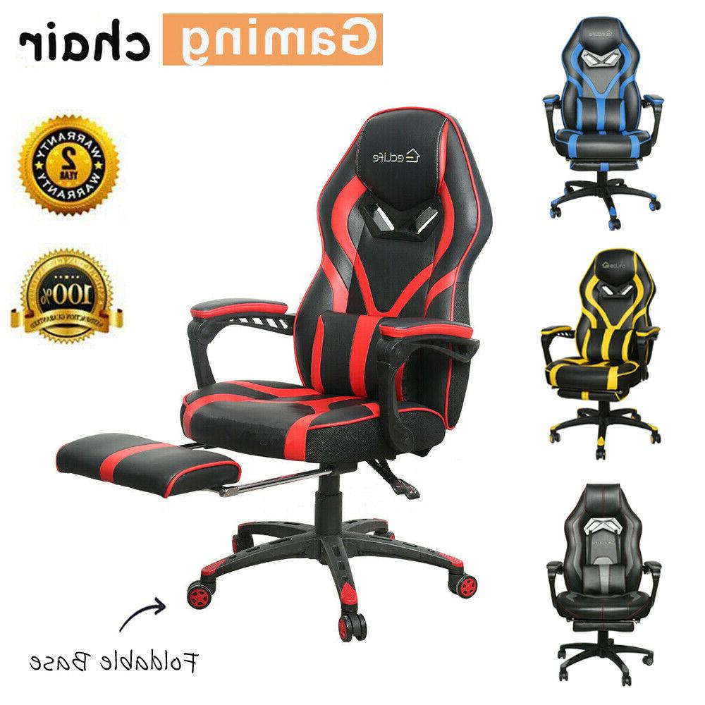 gaming chair racing ergonomic recliner office computer