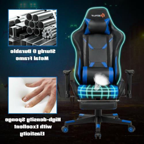 Gaming Recliner Chair LED & Re