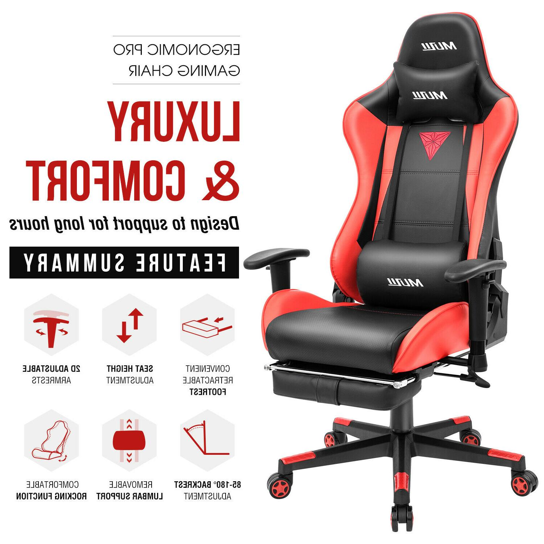 Gaming Office Racing Swivel Desk Chair