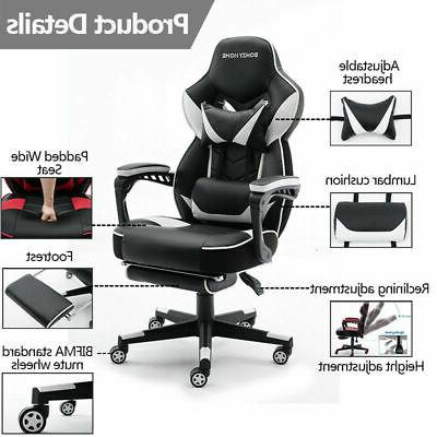 Gaming Racing Executive Swivel Reclining Leather Computer Chair