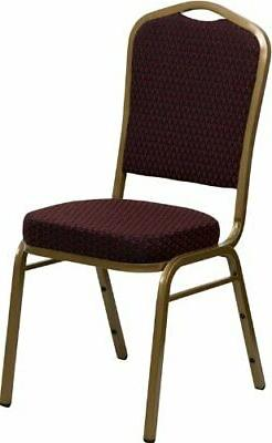 HERCULES Series Crown Back Stacking Banquet Chair with 2.5''