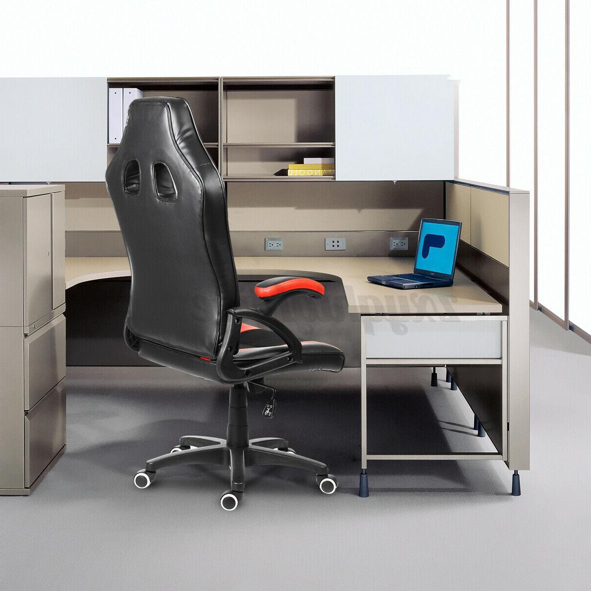 High Office Chair Ergonomic Racing