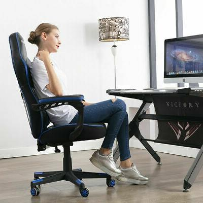 High Back Racing Chair Ergonomic Office Computer Chair Upgraded Version