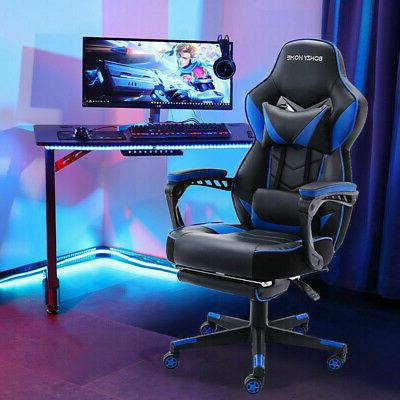 high back racing gaming chair ergonomic office