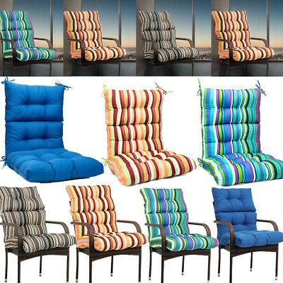 hot outdoor dining chair cushion high back