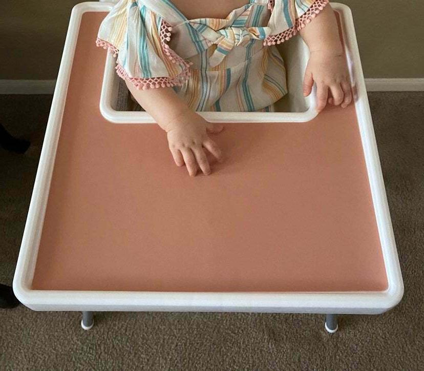 ikea antilop high chair placemat silicone dark