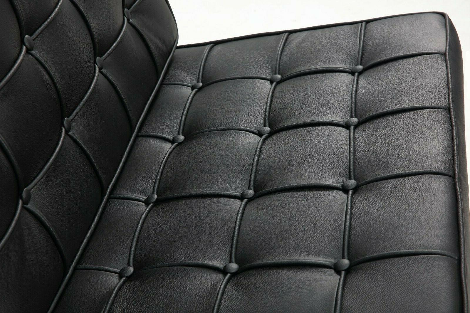 Atayal Leather Barcelona Chair, Single Chair, Ergonomic