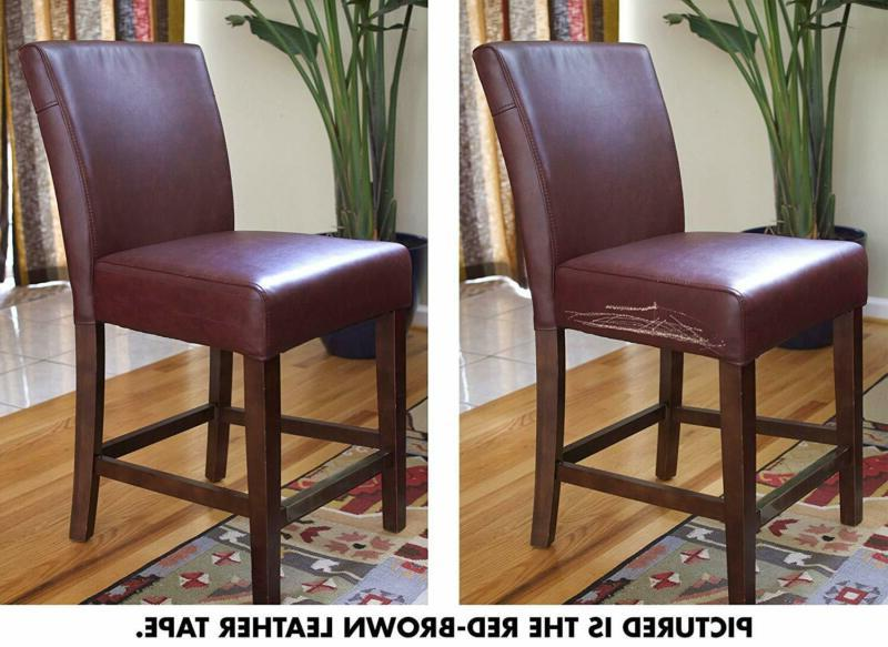 Leather Repair Brown Car Furniture Chair Couch Recliner Kit