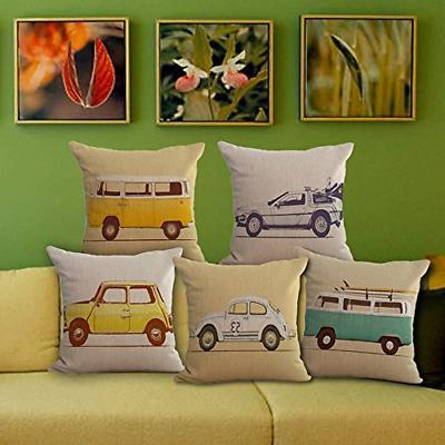 ChezMax Linen Chair Cushion for Sofa Pillow