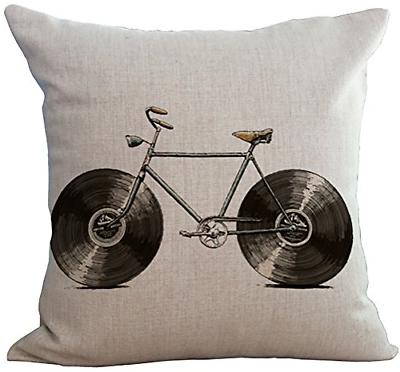 linen cotton office chair seat cushion cover