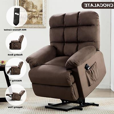 lux breathable leather pushback recliner lazy chair