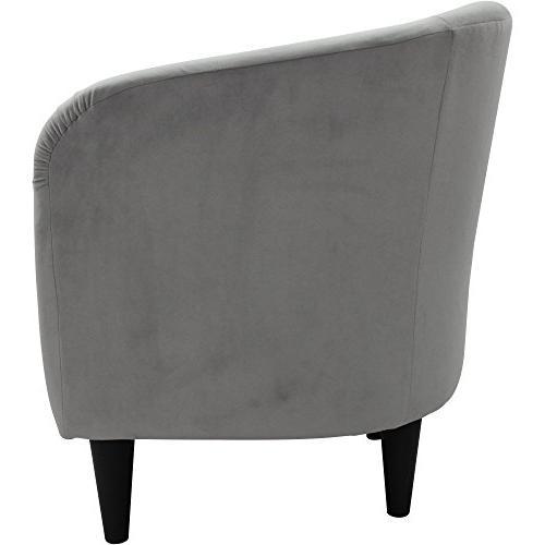 Mainstays Microfiber Accent Chair, Nove