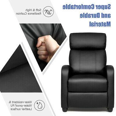 Massage Recliner Chair Sofa PU Seat