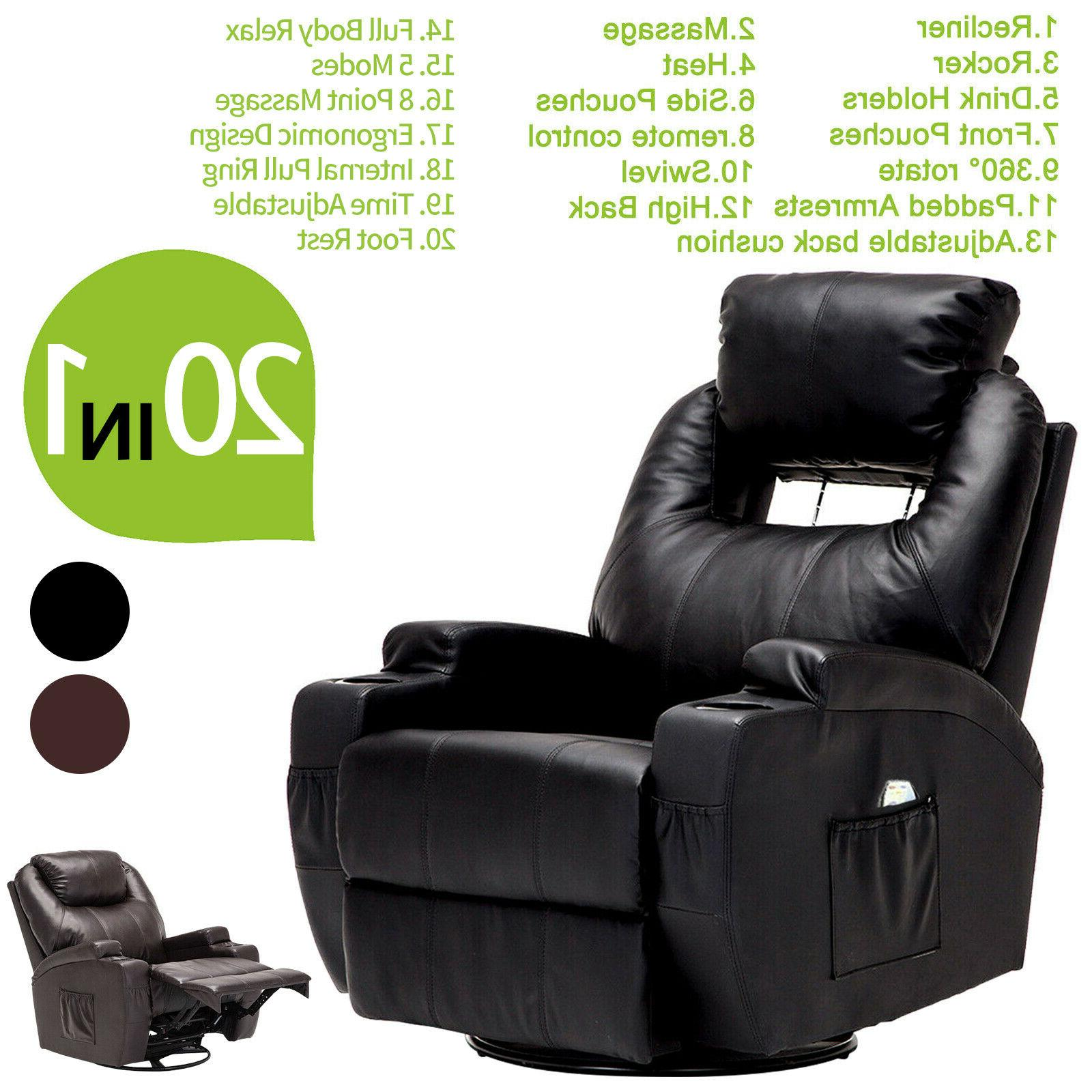 massage recliner sofa chair ergonomic