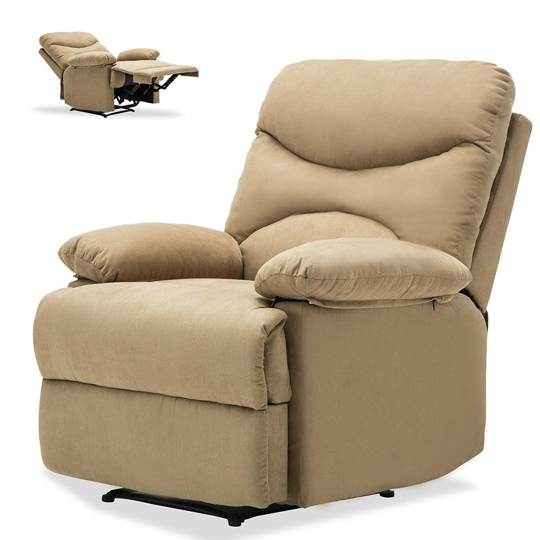 Massage Microfiber Ergonomic Lounge Swivel Heated