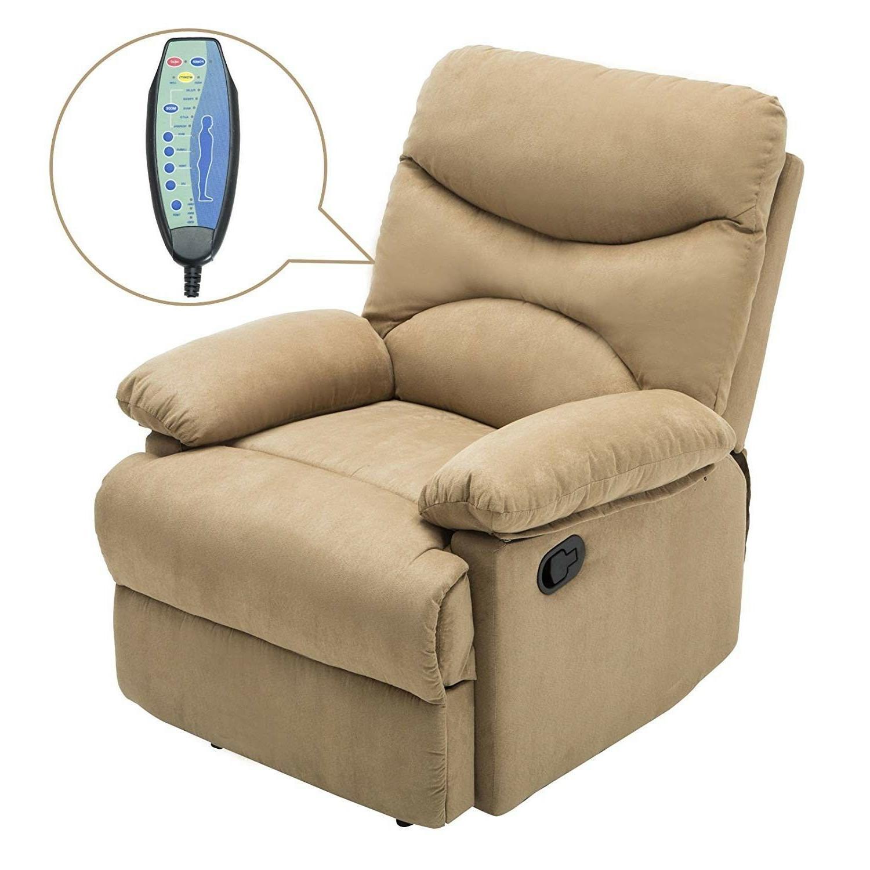 Massage Microfiber Ergonomic Swivel Heated