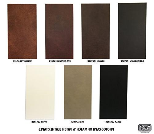 Match Realistic Dark Brown Leather Tape