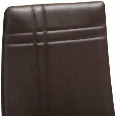 Baxton Matiese Faux Leather Brown