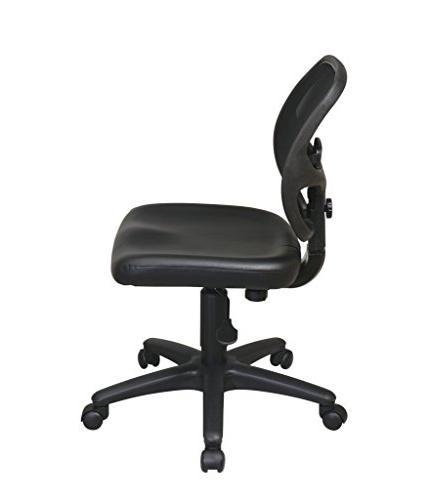 Office Star Back Task Black