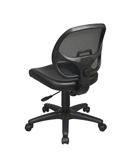 Office Mesh Back Chair with Black