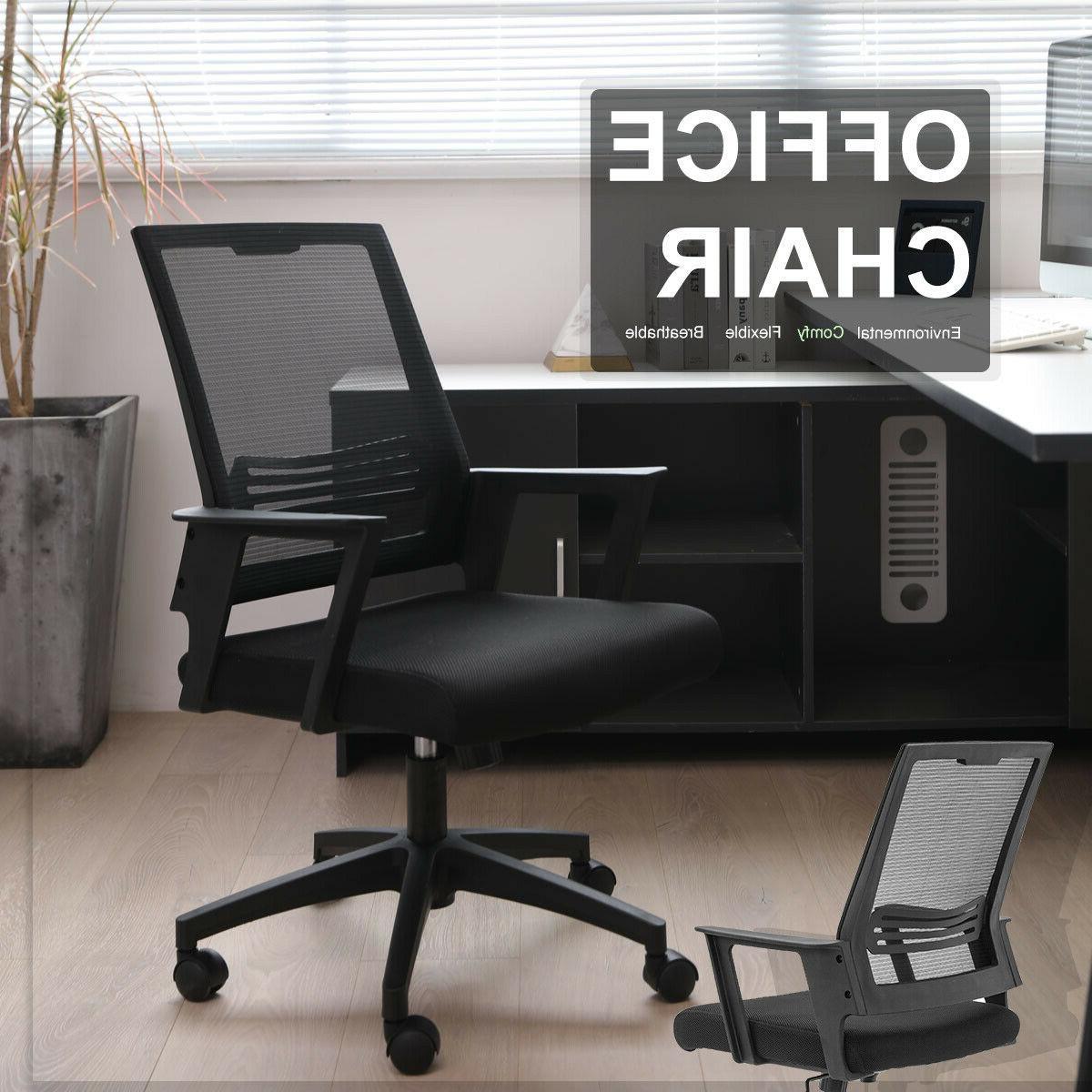 Mesh Chair Mid Ergonomic Desk Task