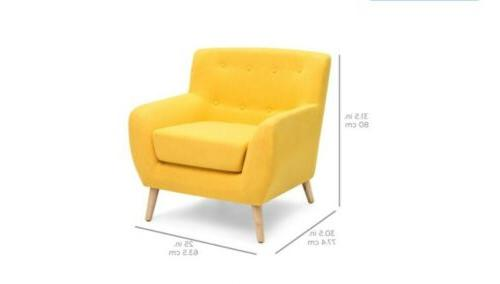 Best Choice Products Modern Linen Upholstered Tufted...