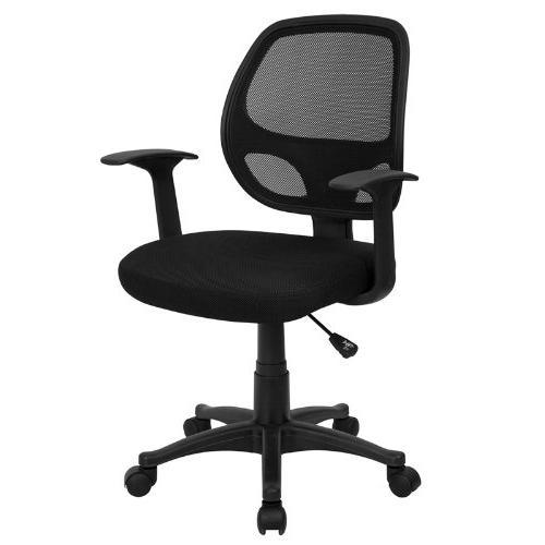 Mid-Back Black Mesh Chair