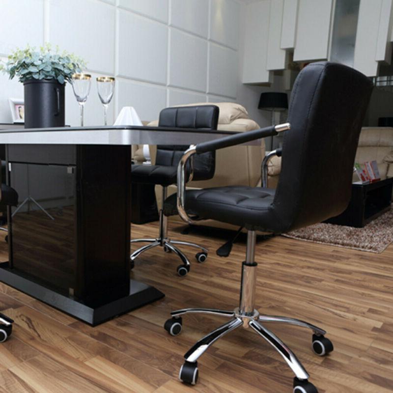 Executive Office PU Computer Task Swivel Black