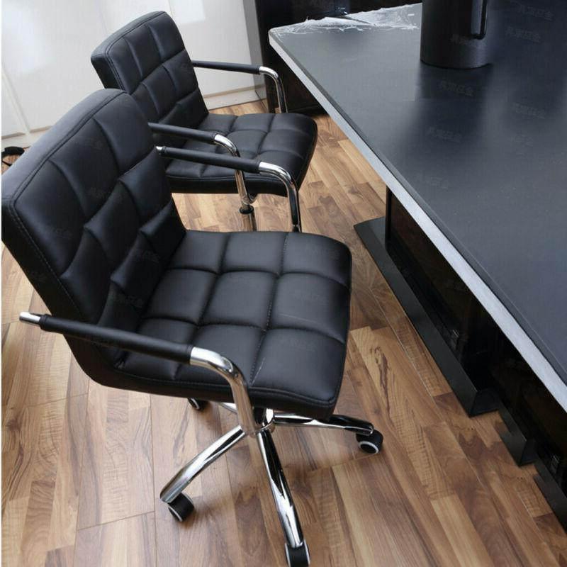 Executive Home Chair PU Leather Computer Desk Task Gas-lift