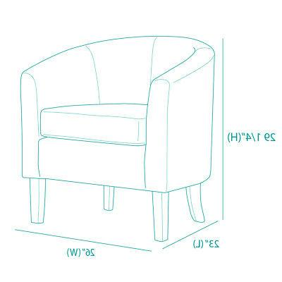 Modern Barrel Seat Accent