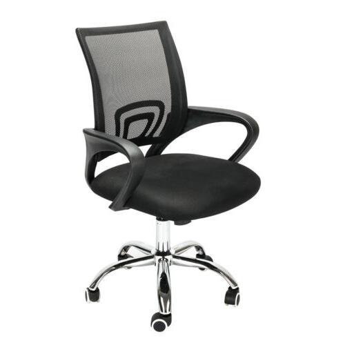 ergonomic mid back mesh computer office chair