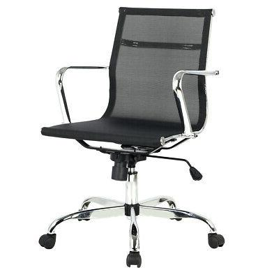 modern ergonomic mid back office chair executive