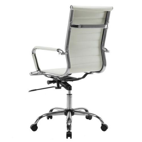 Ergonomic Office Chair Executive Desk White