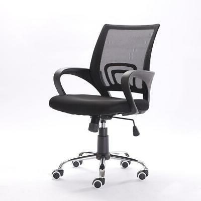 Ergonomic MidBack Mesh Office Chair Executive Swivel Black C