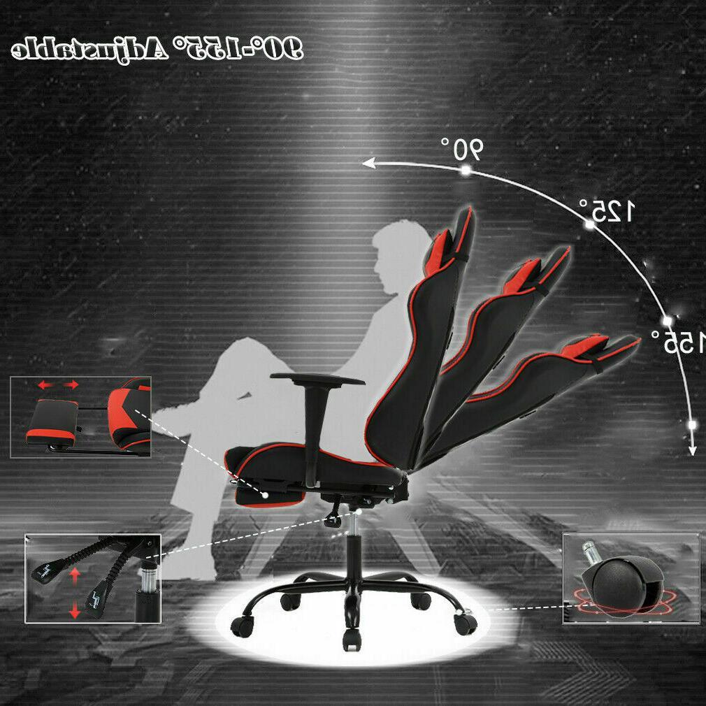 New Chair Office Chair Racing Style Lumbar
