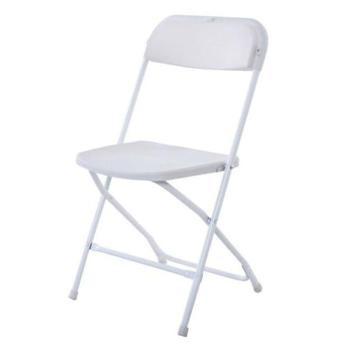 New 10 Plastic Chairs Party Chair Commercial White